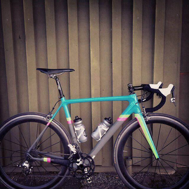 Ritte Custom Bicycle Paint Job