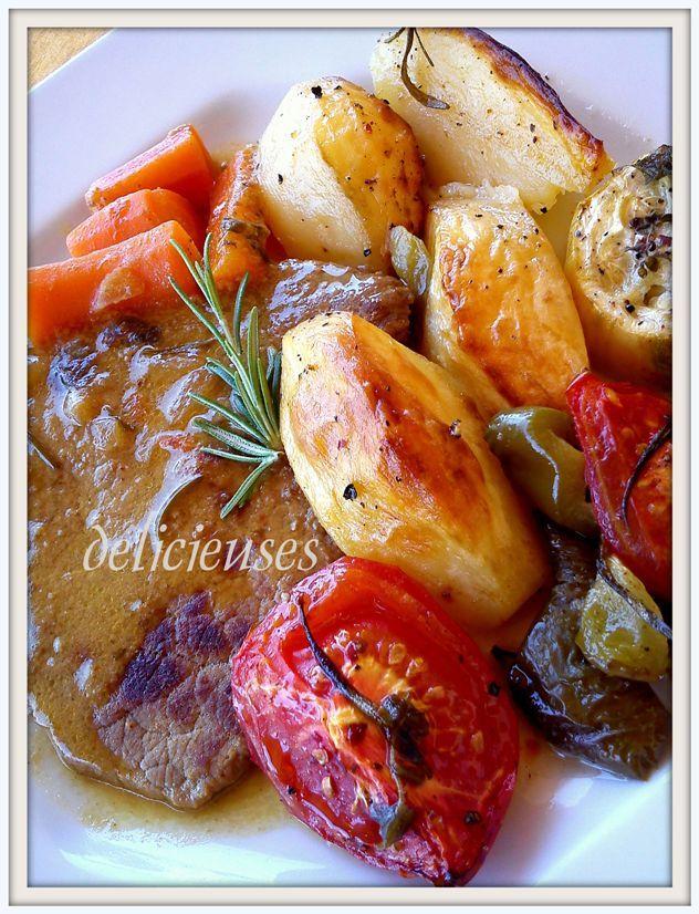 Ψητό κατσαρόλας με μουστάρδα και φρέσκο δενδρολίβανο http://delicieuses.forumotion.net/t3626-topic#44098
