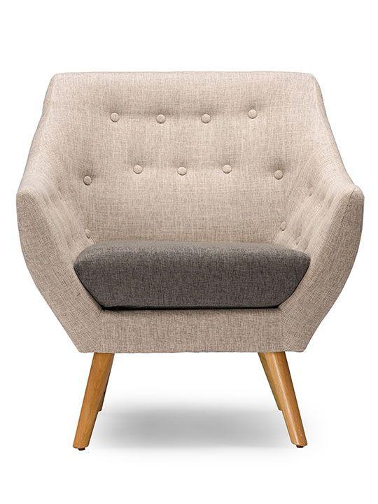 Harmony Mid Century Sofa Armchair | Modern Furniture • Brickell Collection