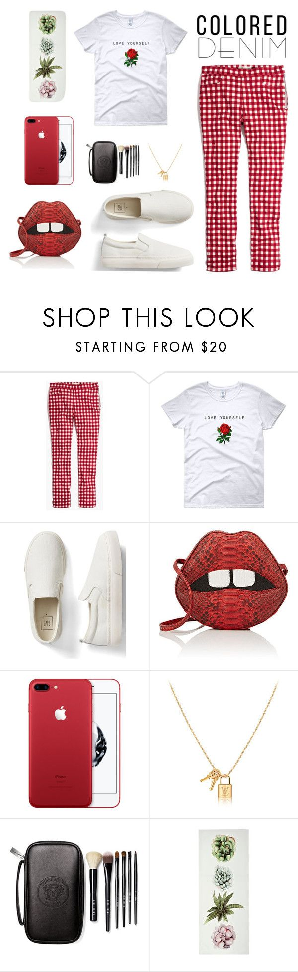 """white and red"" by lanagur on Polyvore featuring мода, Madewell, Gap, Gelareh Mizrahi и Bobbi Brown Cosmetics"