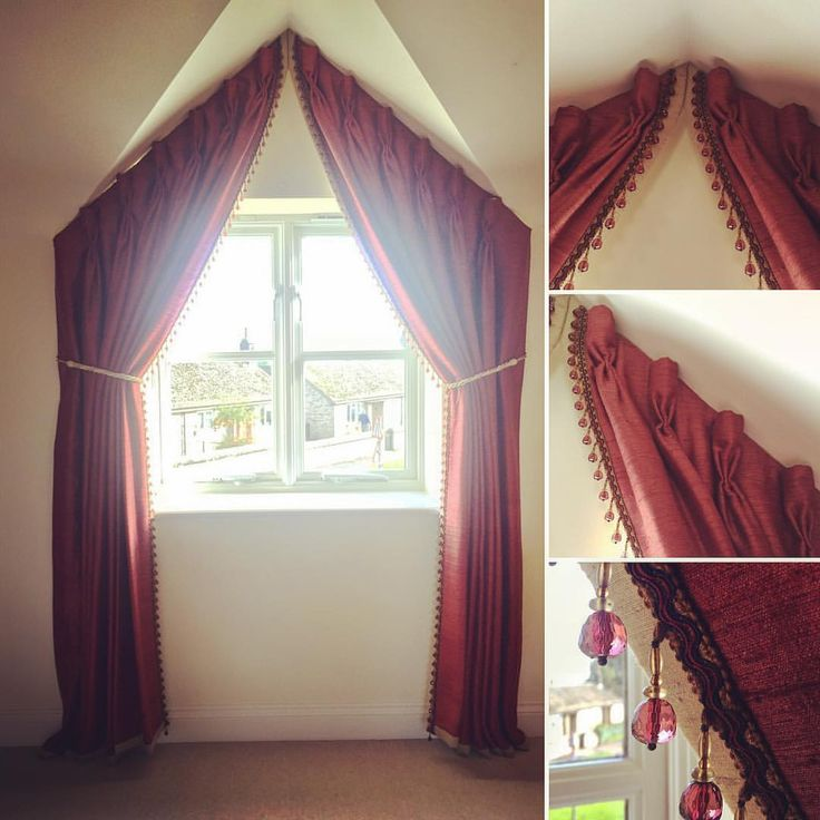 Dormer Window Curtains: 13 Best Curtains For Apex Windows Images On Pinterest