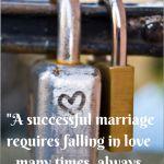 Marriage magic – The Basics bit