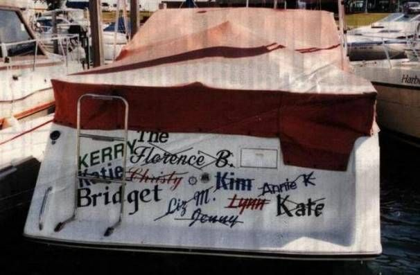 20 Hilarious Boat Names - Booze Cruise | Guff