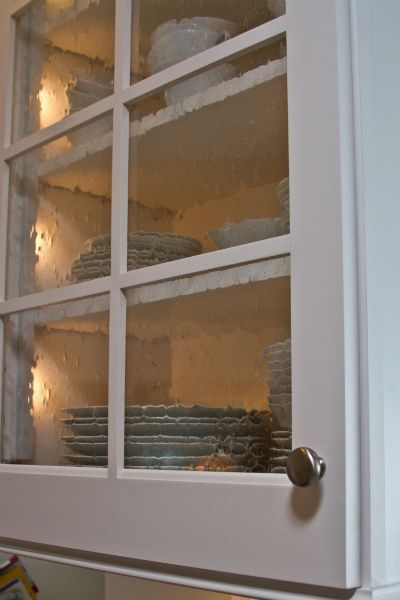 seeded glass cabinet doors - Cabinet With Glass Doors