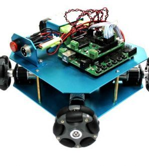 Omni Wheel Arduino Robot Kit. This Arduino Robot Kit is a 4WD 58mm Omni Wheel mobile robot kit for autonomous and research applications.