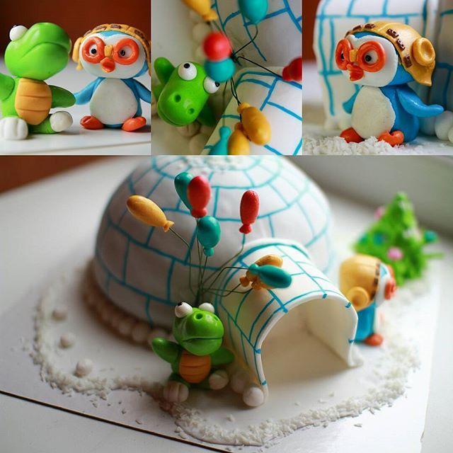 А теперь все дружно в гости к Пороро #торт, #тортнск, #тортнадетскийпраздник…