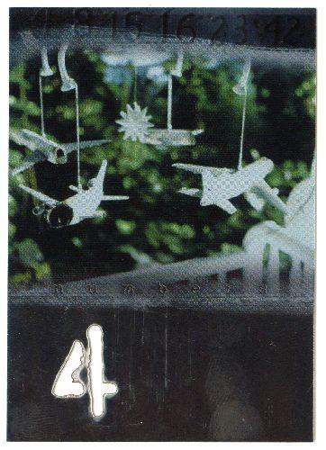 Lost - Season 1 - Numbers Die-Cut Cards # 4 Jack: Must have been... - Inkworks - 2005