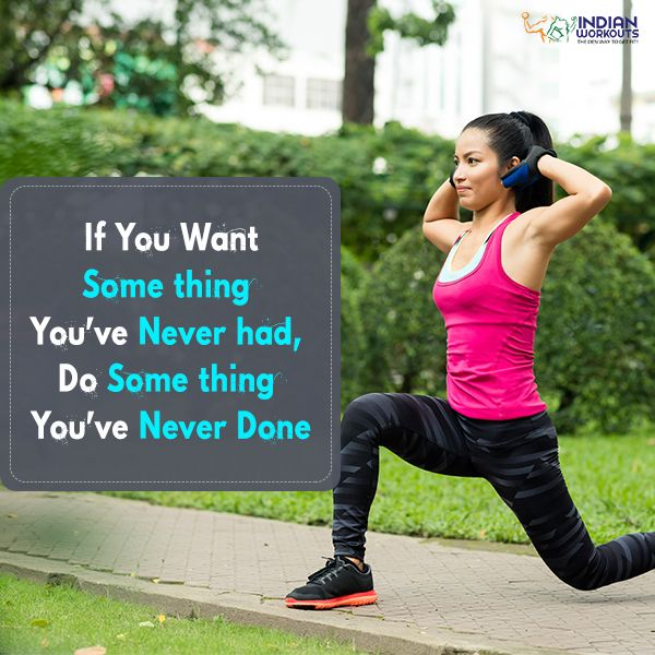 Challenge yourself and aim high and let your today get off to a great start! #Motivation #IndianWorkouts