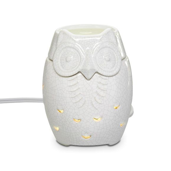 Snowy Owl Scentglow warmer (Party Lite) @Sherrie Campbell