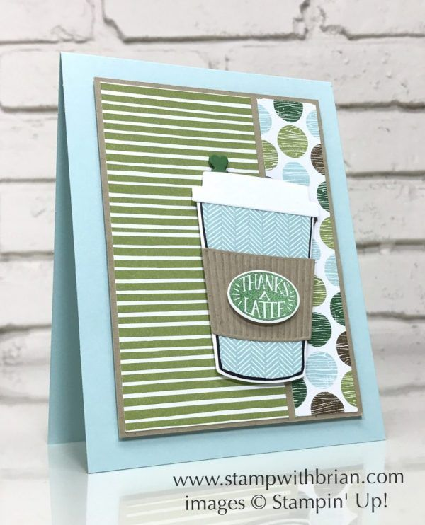 Coffee Cafe, Coffee Cups Framelits Dies, Stampin' Up!, Brian King
