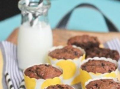 Yum... I'd Pinch That! | Dulce de Leche Chocolate Banana Muffins