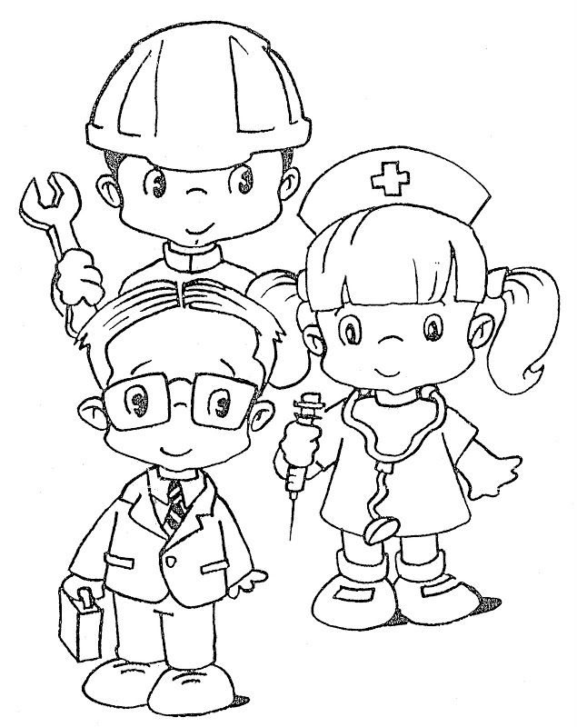 labor day coloring pages MAY204 Labor Day costumes free
