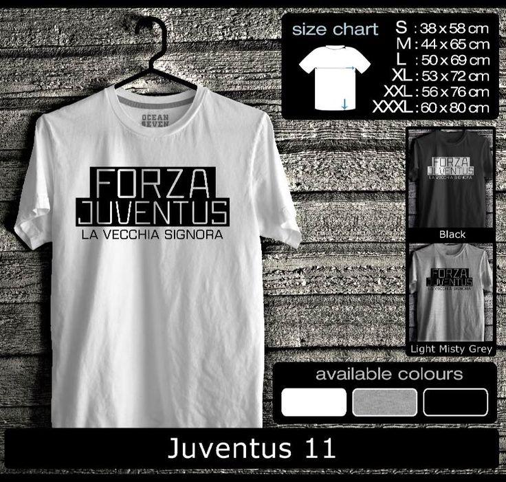 Kaos Juventus FootBall Club | Kaos Juveniti 3