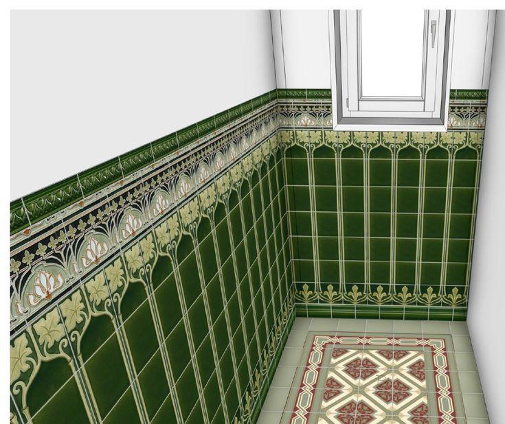 Bathroom Art Nouveau: 162 Best Art Nouveau Bathroom Images On Pinterest