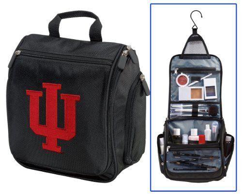 Indiana University Cosmetic Bag or Mens Shaving Kit - Travel Bag IU Logo Makeup Toiletry Bag UNIQUE GIFT FOR MEN OR LADIES Broad Bay. $28.99. Save 19%!