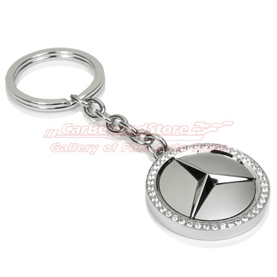 mercedes benz swarovski key chain luxury auto