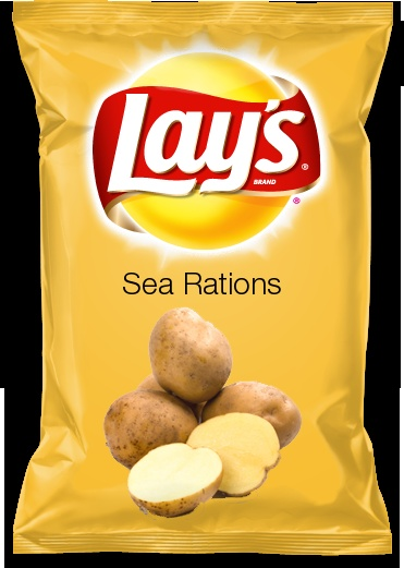 Sea Rations  Beach Selects brings  a new sensation; the flavor of Sea Rations (scrambled Egg,  fried potatoes and corn cured beef).  It is a must try!