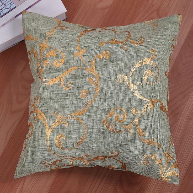 17 Home Decor Throw Pillow Case Sofa Seat Cushion Cover Waist Linen Imitation