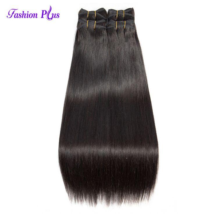 Remy Indian Hair 1/3/4 Bundles Straight Indian Hair Bundles 8-30inch Fashion Plus Human Hair Weave Bundles Machine Double Weft