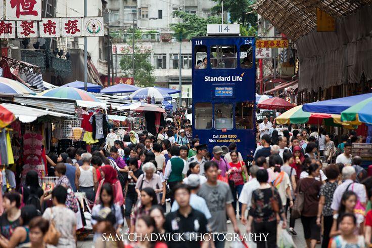 Hong Kong Trams - Sam Chadwick Photography