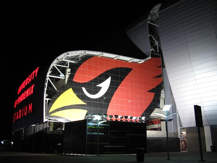 University of Phoenix Stadium, 1 Cardinals Drive, Glendale, Arizona