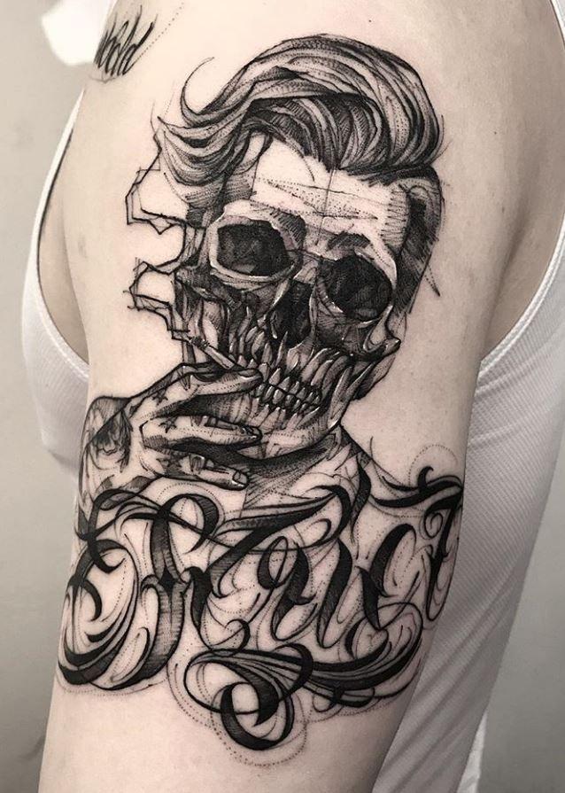 26 Black & Gray Awesome Tattoos by Bk_tattooer   – Hình xăm