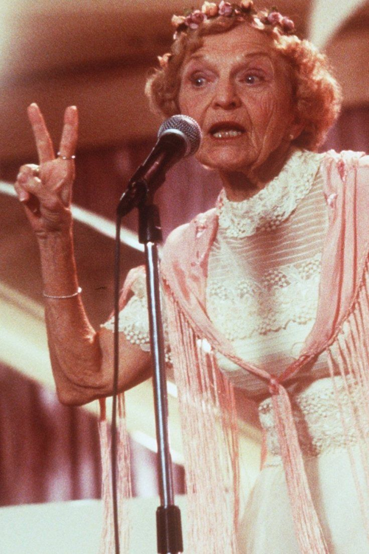 The Rapping Granny From Wedding Singer Dies