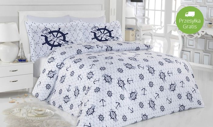 Groupon Goods Global GmbH: Od 99 zł: komplet ekskluzywnej pościeli bawełnianej w 2 rozmiarach do wyboru – różne wzory