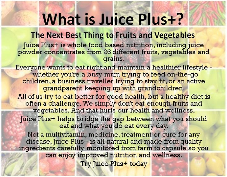 Whole food based nutrition that will help fill gaps in your diet. This is priceless!