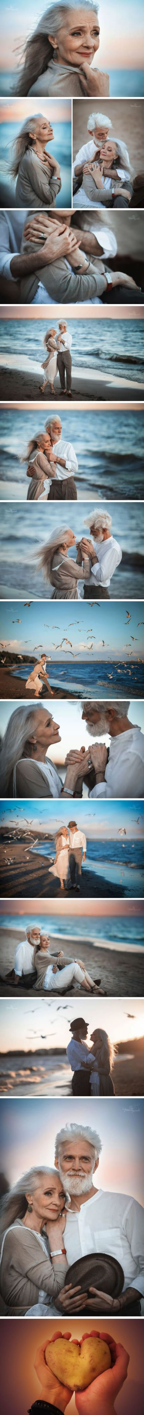 Photographer Captures Elderly Couple's Precious Moment To Show Eternal Love