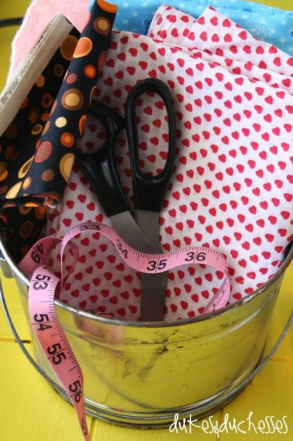Tips for teaching kids to sew. Love the idea of a scrap bucket for them to learn with.