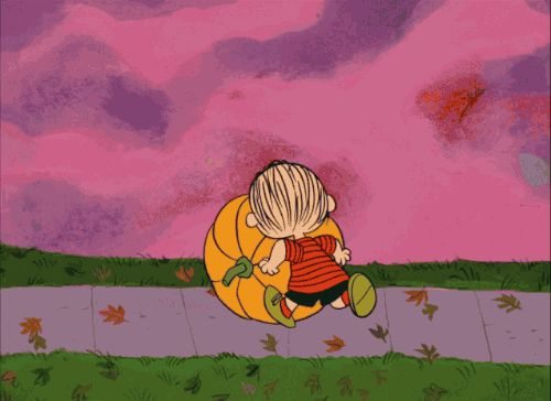 Rolling pumpkin charlie brown gif halloween halloween pictures halloween images halloween ideas