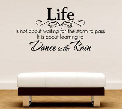 Life - Dance in the rain www.twolittlegiggles.com.au