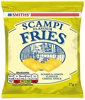 Savoury Selection Scampi Fries, 27 g (Pack of 24)