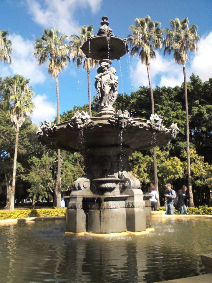 Chafariz Parque Farroupilha (Redencao) Porto Alegre, RS, Brasil