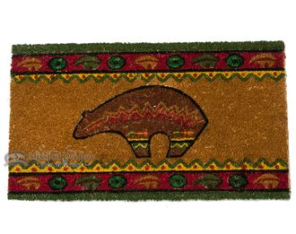 "Southwestern Door Mat - Spirit Bear 16""""x28"""""