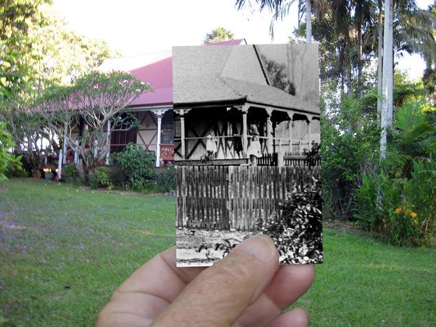 Now and Then Yandina house by Hinterland Heritage