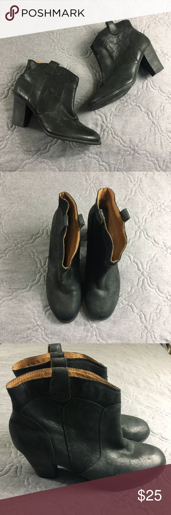 Clark's Indigo Shortie Booties Only worn once, very comfy. Would be really cute with dresses. No trades. Clarks Shoes Ankle Boots & Booties