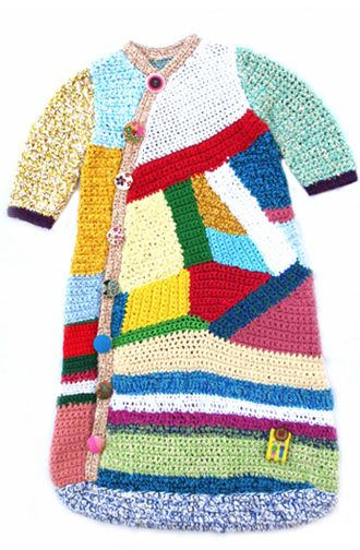Gorgeous little gem for baby, hand crocheted  in Germany by JK Lange of 'Teeny Tiny Children.'