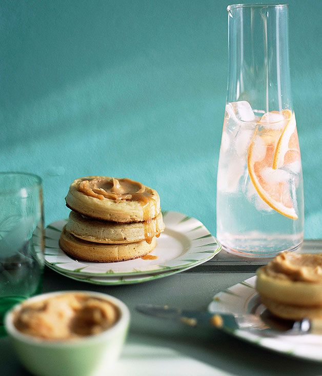 Australian Gourmet Traveller breakfast recipe for crumpets with whipped maple butter
