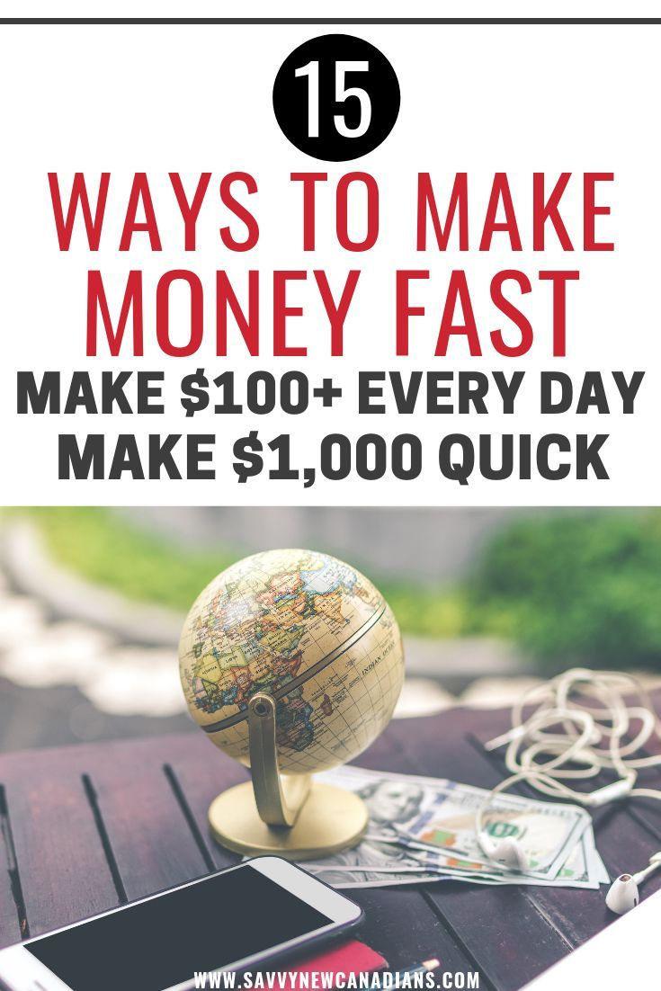Need Cash Fast? 15 Easy Ways To Make $1,000 In A Week or Less (or Without a Job)