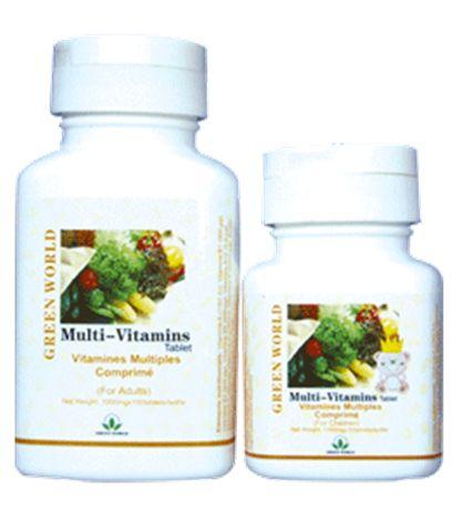Multi-Vitamin Tablet dari Green World dengan kualitas terbaik dan 100% original hanya tersedia disini. Kualitas produk terjamin legalitas resmi dari BPOM RI dan halal MUI. Pesan sekarang juga, Barang Sampai Baru Bayar.