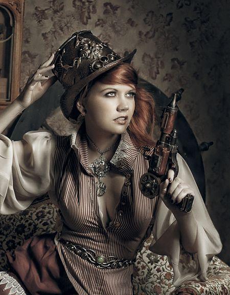 Photo shoot by Laura Dark for Dark Beauty Magazine love the revolver!!! #provestra