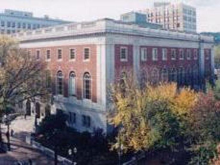 Multnomah County Central Library, Portland Oregon