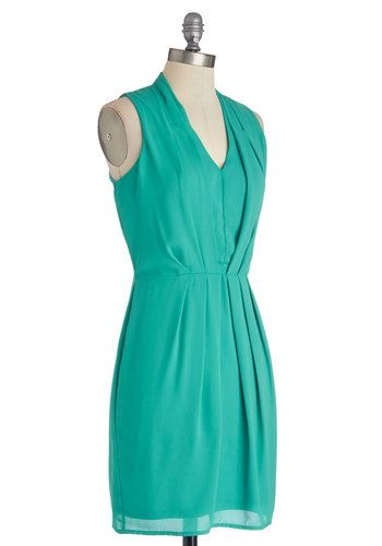 Sublime Melon Dress in Green, #ModCloth