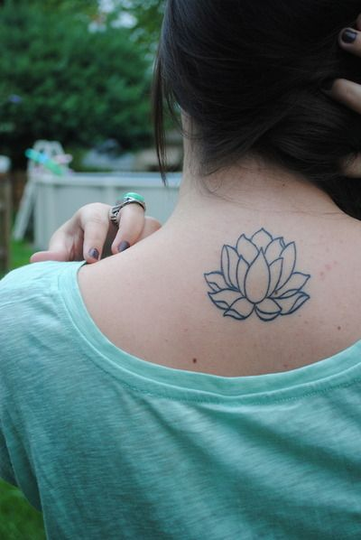 Lotus flower tattoo to get with my mom just different for Placement of tattoos
