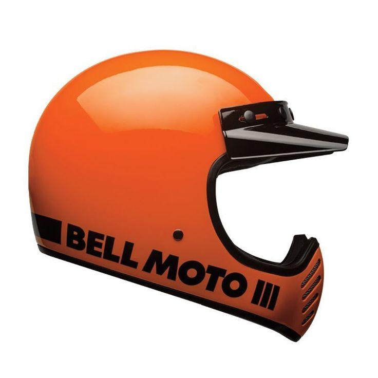 Casque cross Bell Moto-3 Classic orange fluo a été conçu avec une coque résistante et légère en fibre composite. Cet équipement est livré avec une visière casquette 5 pressions. LIVRAISON GRATUITE