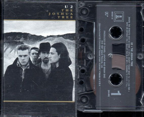 U2  The Joshua Tree  1987 Island Records  by riverbottomrecords