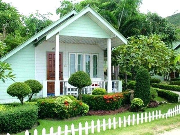 Beautiful Small Front Yard Landscaping Design Halaman Belakang Desain Lanskap Rumah Indah