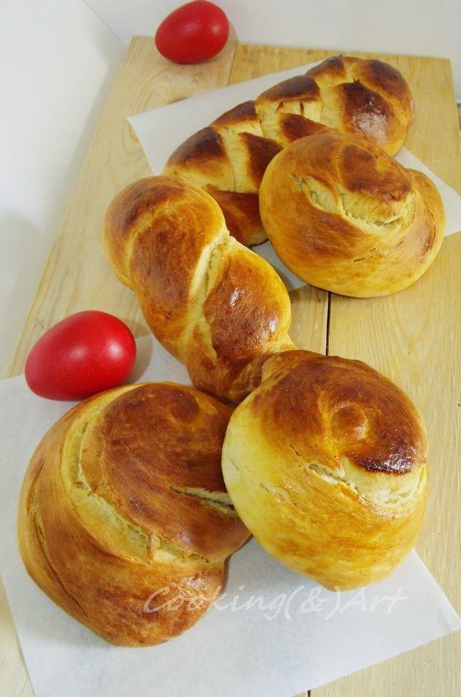 Μαγειρική(&)Τέχνη!: Πασχαλινά Τσουρέκια / Greek Easter Bread !